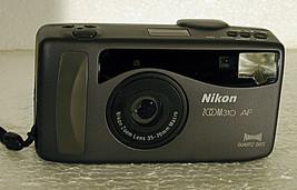 Nikon Zoom 310 AF Panorama macro quartz date Point & Shoot 35 mm Camera... - $47.89
