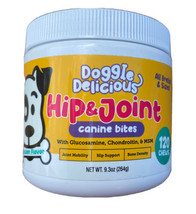 Doggie Delicious Hip & Joint Canine Bites All Breeds 120 Chews All Breed... - $26.99