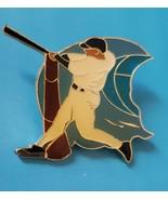 San Diego Pro Specialties Baseball Batter Metal Enamel double pin, new - $8.95