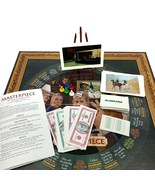 Masterpiece The Classic Art Auction Game Parker Brothers Bid Game 1996 C... - $36.00