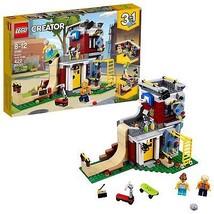 LEGO Creator 3in1 Modular Skate House 31081 Building Kit 422 Piece - $45.42