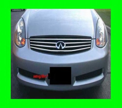 Primary image for 2003-2008 INFINITI G35 CHROME GRILLE GRILL KIT 2004 2005 2006 2007 03 04 05 06 0