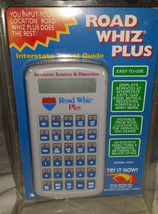 VTG Road Whiz Plus 950 Early GPS interstate Travel Guide Original Packaging - $12.88