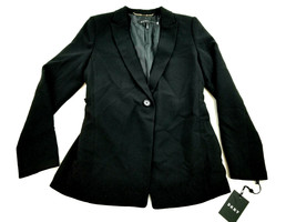new DKNY women dress jacket Artisan Chic DU8D1253 black 4 MSRP $129 - $38.99