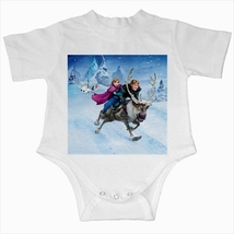 Frozen infant baby creeper bodysuit romper onepiece newborn jumpsuit  - $20.00