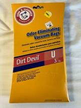 Arm & Hammer Odor Eliminating Vacuum Bags For Dirt Devil Type U - 1 pack... - $10.00