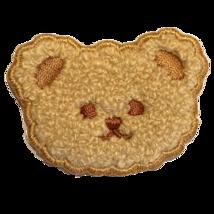 Iron On Patch (Teddy Bear Head) - $5.00