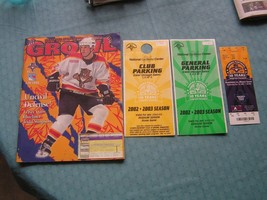 Florida Panthers Program Vs. NY Ranger,  Tickets Stubs, & Passes Lot Of 5 - $9.49