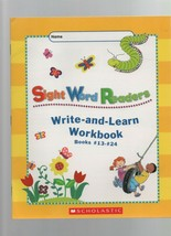 Write-and-Learn Workbook - Sight Word Readers - Books #1.3 - 24 - SC - 2... - $1.47