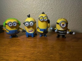 Minions despicable Me Mcdonald's Toy Lot Happy Meal - $7.92
