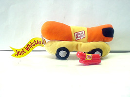 "Oscar Mayer Wiener 7"" Plush Beanbag Wienermobile & Wienermobile Whistle - $14.84"