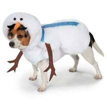 Mustache Snowman Dog Costume  - $22.95+