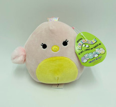 "Squishmallows Harmony Chick Pink Yellow 5"" Easter Stuffed Animal Kellytoy NWT - $15.99"