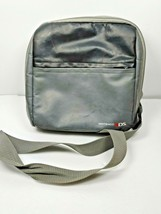 Nintendo 3DS Gray Official Leather Pouch Bag Carrying Case with Shoulder... - $16.82