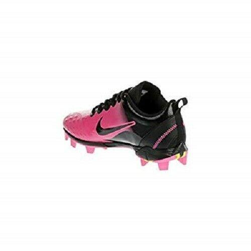 49b1b1bae NIKE Womens Hyperdiamond 2 Keystone Softball Cleats Pink Black 856434 NEW  5.5 6