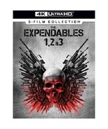 The Expendables 3-Film Collection 1, 2 & 3 (4K Ultra HD)  - $27.95