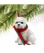 West Highland Terrier Miniature Dog Ornament - $11.83
