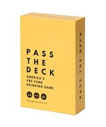Pass The Deck: America's #1 Adult Drinking Card Game - $27.97