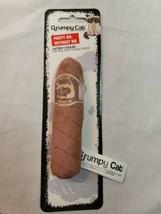 Rosewood Design-New Cute Grumpy Cat Catnip Cigar Toy - $7.90