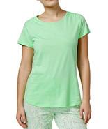 New XS CHARTER CLUB Soft Cotton Women's T-shirt Short Sleeve Sleep Shirt... - $8.99