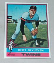 1976 topps #235 bert blyleven minnesota twins baseball card vg condition - $8.27