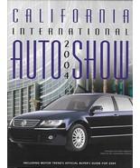2004 California International AUTO SHOW Program CAR GUIDE Anaheim Motor ... - $7.50