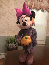 "Disney Minnie Mouse Halloween Greeter ~23"" Tall - $19.79"