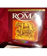 New! 'ROMA' - Federico FELLINI's Classic Film on Deluxe WS Laser Disc, S... - $24.95