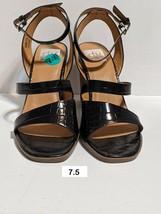 DV DOLCE VITA Womens Black Strappy Stacked Block Heel Sandal Sizes 7.5, 8.5, & 9 - $21.99