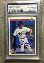 1992 Upper Deck Pedro Martinez Autographed Card PSA/DNA - $99.99