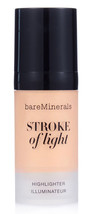 Bare Minerals STROKE of LIGHT Highlighter Illuminator Face Glow Full Siz... - $17.39