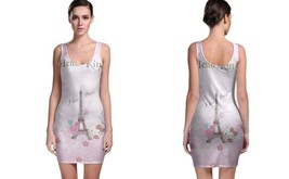 Hello Kitty I Love Paris BODYCON DRESS FOR WOMEN - $22.99+