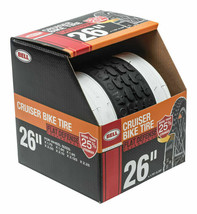 Bell Sports 7107494 Black Rubber Glide Cruiser Bicycle Tire 26'' (NEW/OP... - $31.38