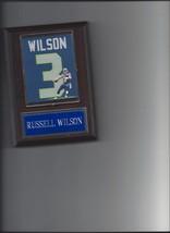 Russell Wilson Jersey Plaque Seattle Seahawks Football Nfl - $3.95