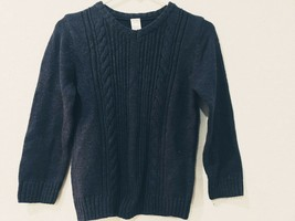 NWT Gymboree Boys VNeck Blue Pullover Sweater Holiday Christmas M (7-8) - $18.80