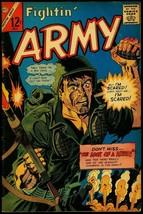 Fightin' Army #69 1966- Charlton War comic- tense grenade cover VG - $25.22