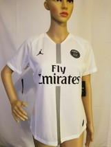 Paris Saint Germain Nike Air Jordan Jersey PSG Soccer Futbol Fly Emirate... - $88.19