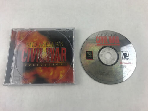 Sid Meier's Civil War Collection PC 2001 Video Game EA