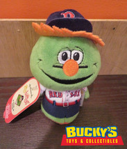 MLB Boston Red Sox Wally the Green Monster Hallmark itty bitty bittys Ba... - $30.68