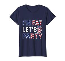 Brother Shirts - I'm Fat Let's Party T-Shirt Funny American Drinking Beer Tee Wo image 4