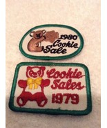 1979 & 1980 Cookie Sale Patch Badge Girl Scout Rare - $12.95