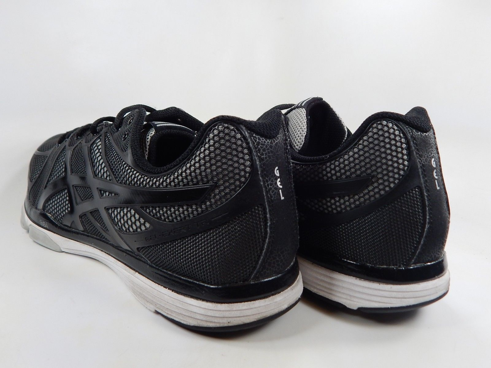 Asics Gel Exert TR 4 Size US 12.5 M (D) EU 47 Men's Training Shoes Black S410N