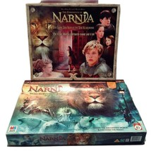 2 Board Games 2005 Disney Chronicles of Narnia Lion Witch and Wardrobe F... - $29.99