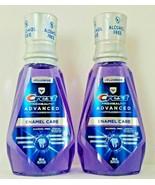 2x Crest Pro-Health Mouthwash Advanced Enamel Care Alcohol Free 16.9 oz ... - $13.75