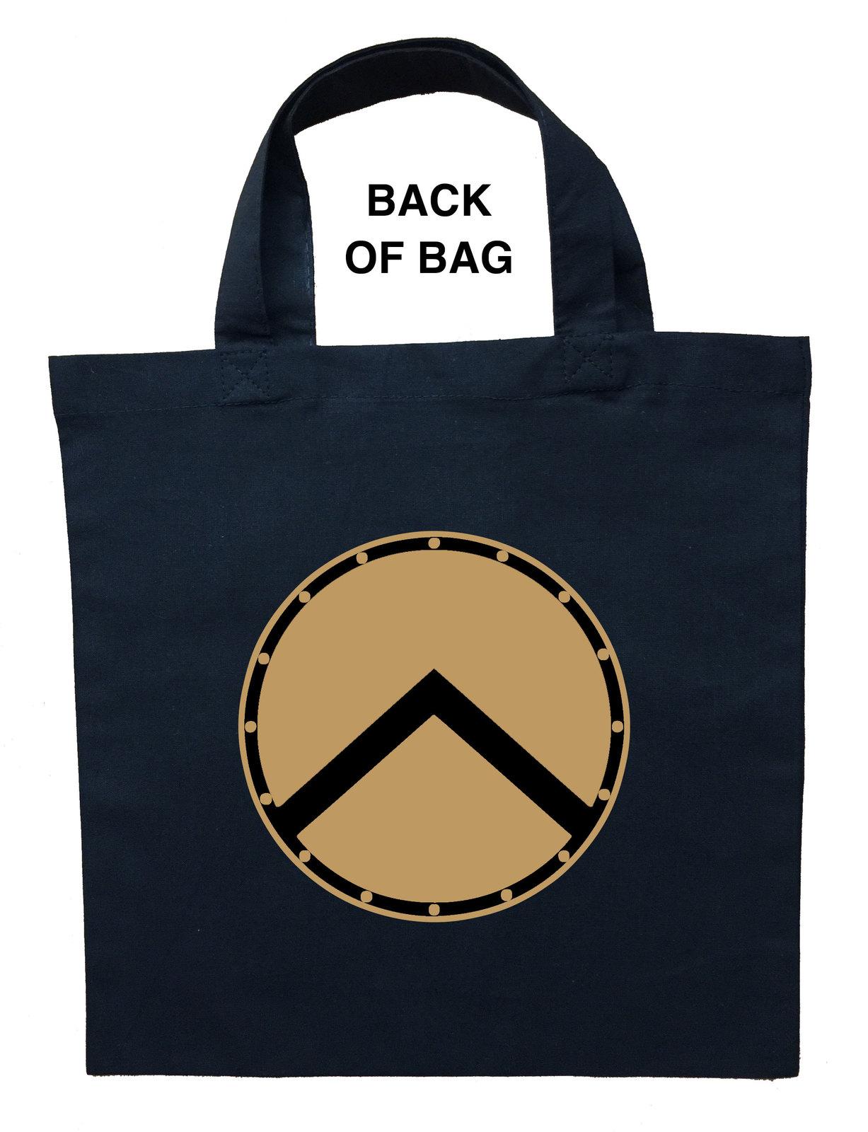 Spartan Trick or Treat Bag, Personalized Spartan Halloween Bag, Spartan Bag