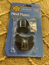 Shoe Gear Heel Plates 2 Pairs Large Small Shoes  - $7.83