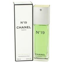 Chanel No.19 Perfume 1.7 Oz Eau De Toilette Spray image 3