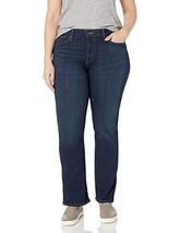 Levi's Women's 414 Plus-Size Classic Straight Jean's, Thistle Lake, 38 U... - $49.07