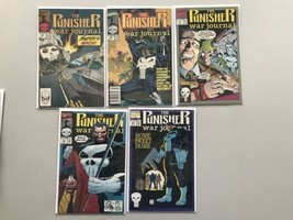 Lot of 9 Punisher War Journal (1988 1st Series) from #10-49 VF Very Fine - $24.75