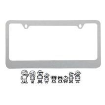 License Plate Frame Family, Universal Cool Personalized License Frame Zinc - $17.09